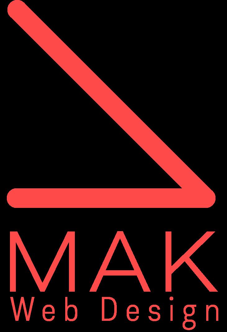 MAK Web Design Logo